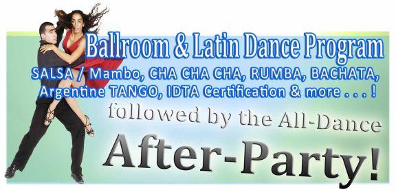 Ballroom, Latin, Salsa, Cha Cha Cha, Rumba, Mambo, Merengue, Argentine Tango, Zouk, Bachata, Kizomba, Salsa Rueda (Casino Salsa)k, Indo & Afro Caribbean Dance